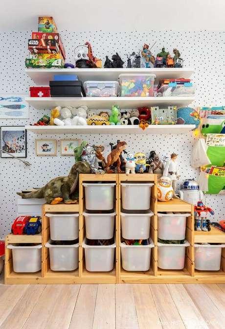 63. Brinquedotecas em casa e decoradas – Foto: Histórias de Casa