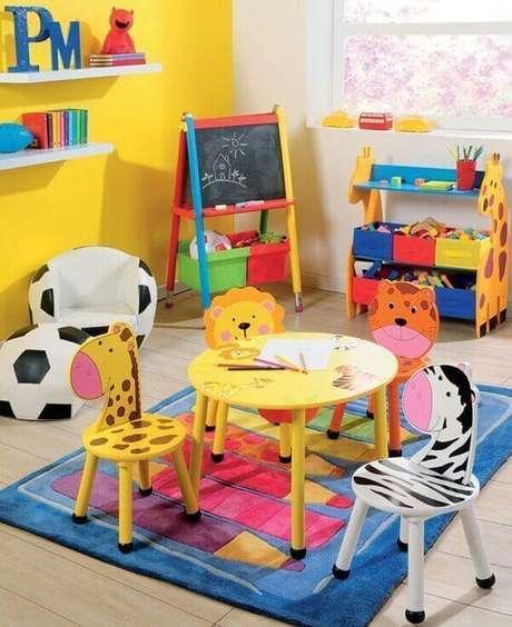 71. Brinquedotecas criativas para criança – Via: Circu