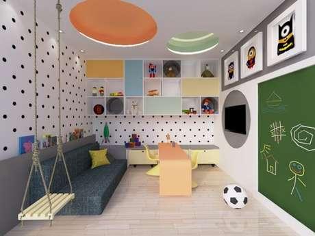 73. Brinquedos no quarto infantil – Via: 14bix