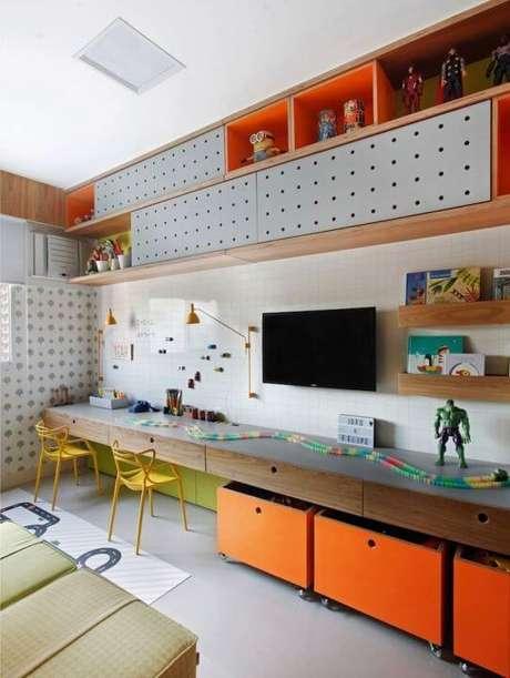9. Brinquedoteca criativa e moderna – Projeto: Na Toca Design