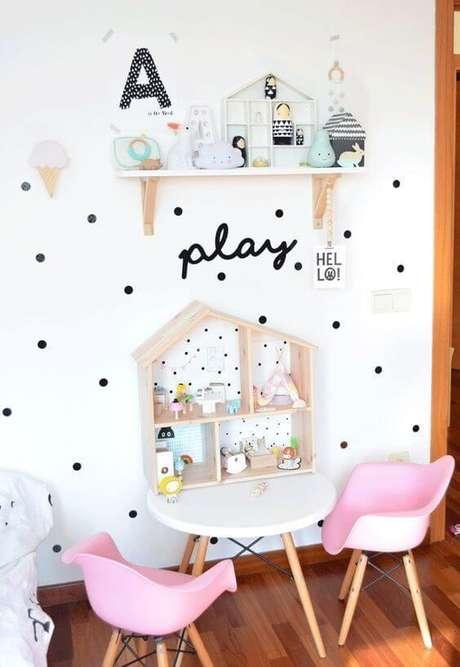 12. Brinquedoteca pequena e simples para decoração linda – Via: Simbiose Verde