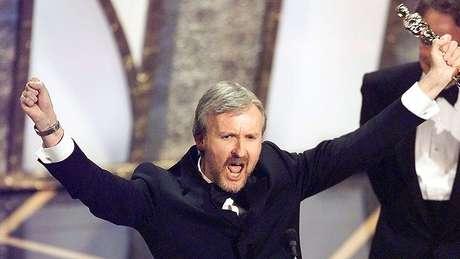 'Titanic', de James Cameron, foi um dos poucos filmes vencedores do Oscar a ter também a maior bilheteria