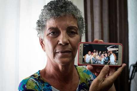 """Vera Lúcia Conceição, mãe de Flaviana: """"Sempre que eu via um caso na TV, pedia a Deus para consolar a família. Agora me vejo nessa"""""""