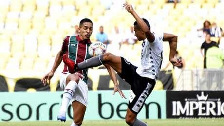 Botafogo foi dominado pelo Fluminense no clássico (Foto: MAILSON SANTANA/FLUMINENSE FC)