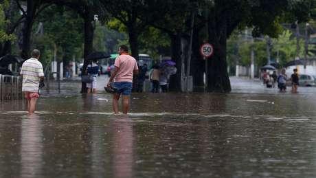 Segundo o Inmet, São Paulo registrou o maior volume de chuvas em 24 horas num mês de fevereiro dos últimos 37 anos