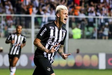 O Atlético-MG pode repatriar o atacante Róger Guedes (Foto: Divulgação/Bruno Cantini)
