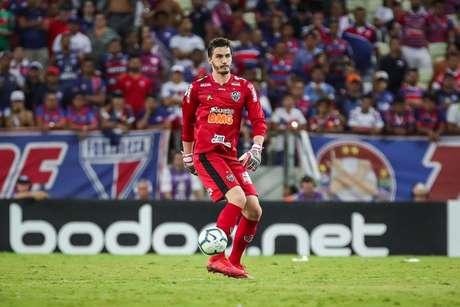 Cleiton fez 43 jogos com a camisa do Galo e levou 40 gols- (Foto: Bruno Cantini / Atlético)