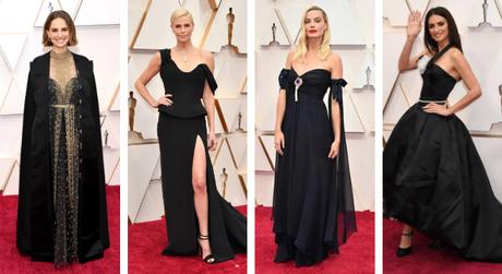 Atrizes apostam em preto no Oscar (Fotos: Divulgação/Dior/Reprodução/@instagram)