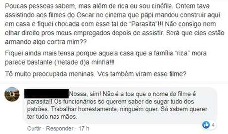 Diferenças entre a elite econômica e os pobres de Seul, Coreia do Sul, são usadas por jovens para ironizar ricos brasileiros.