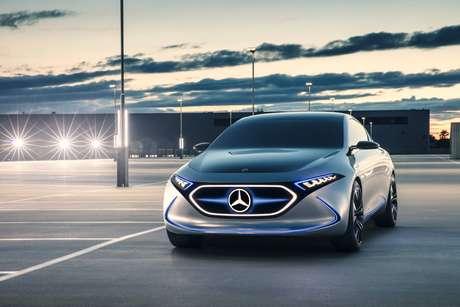 Próximo carro elétrico da Mercedes: EQA, previsto para 2021.