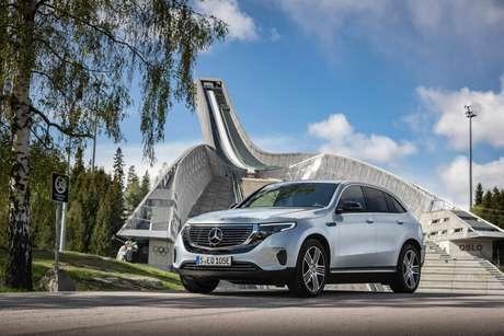 Novíssimo Mercedes EQC: puramente elétrico por R$ 477.900.