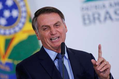 Bolsonaro participa de evento no Palácio do Planalto 5/2/2020 REUTERS/Adriano Machado