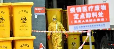 A província de Hubei, onde o surto teve início, confirmou 103 novas mortes e 2.097 novos casos da doença