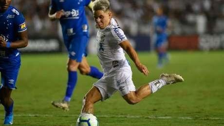 Desde janeiro de 2019 no Santos, Soteldo tem 12 gols em 52 jogos (Ivan Storti/Santos FC)