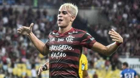 Reinier marcou seis gols pela equipe profissional do Flamengo (Foto: Nayra Halm/Fotoarena/Lancepress!)