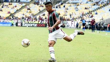 Em quatro jogos pelo Tricolor, Egídio já contribuiu com duas assistências (Foto: Mailson Santana/Fluminense)