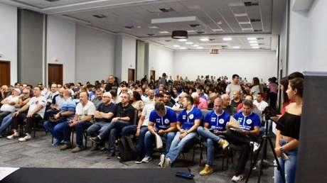 Credenciamento Técnico reuniu mais de 400 treinadores na Zona Oeste do Rio (Foto: Daiana Bueno)