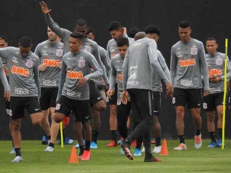 Pedrinho deve ser titular do Corinthians contra o Guaraní (RODRIGO GAZZANEL / AGÊNCIA CORINTHIANS)