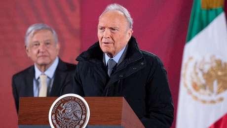 Procurador-geral Alejandro Gertz e presidente López Obrador falaram sobre feminicídios