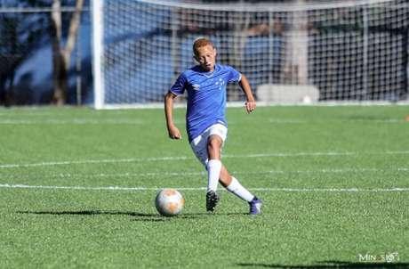 Luiz Otávio já conseguiu chamar a atenção do Barcelona com apenas 13 anos- (Divulgação)