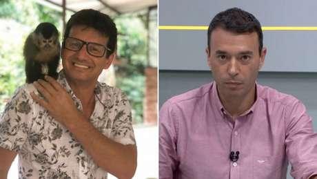 Will Dantas não gostou das críticas de André Rizek em relação a Pedrinho (Foto:Reprodução)