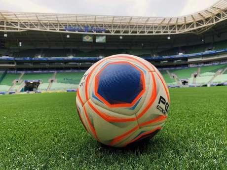 O Allianz Parque estreará o novo gramado no domingo, contra o Mirassol (Foto: Divulgação)