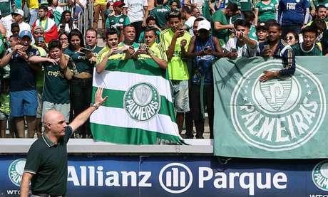 Maurício Galiotte diz que Palmeiras vive momento de entendimento com a WTorre (Agência Palmeiras/Divulgação)