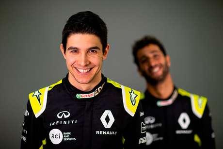 Esteban Ocon e Daniel Ricciardo, pilotos da Renault / Foto: Renault