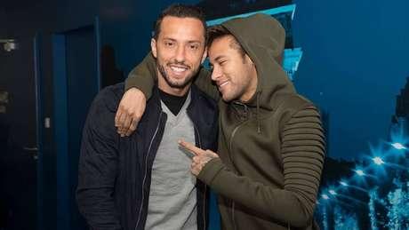 Neymar é amigo de Nenê e Lucas Lima (Foto: Divulgação/PSG)