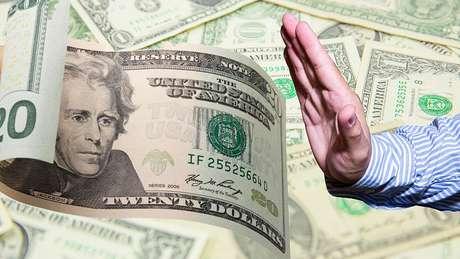Para a maioria das pessoas, é injusto receber apenas US$ 20 dos US$ 100