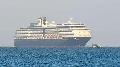 MS Westerdam conseguiu atracar no Cambodja após ser barrado em cinco portos