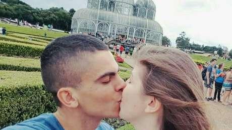 Primeiro encontro do casal foi em Curitiba