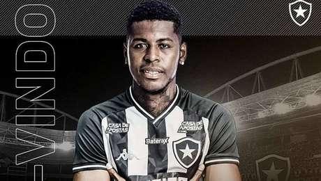 Gabriel Cortez é anunciado pelo Botafogo