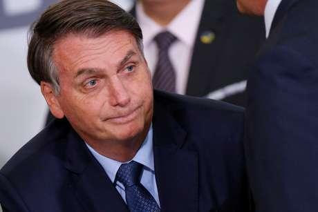 Presidente Jair Bolsonaro durante cerimônia no Palácio do Planalto 05/02/2020 REUTERS/Adriano Machado