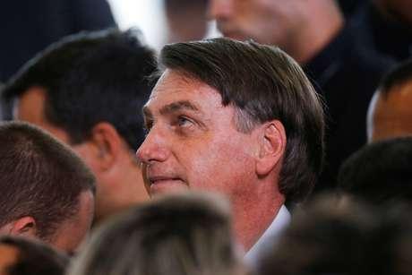 Presidente Jair Bolsonaro no Palácio do Planalto 11/02/2020 REUTERS/Adriano Machado