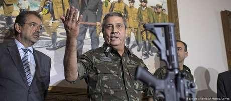 Braga Netto é o atual chefe do Estado-Maior do Exército e comandou a intervenção federal na segurança pública do Rio