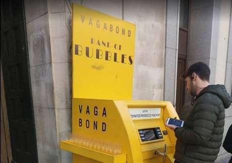 'Caixa eletrônico' de Prosecco em Londres