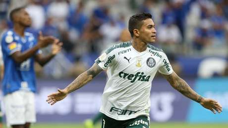 Dudu provocou o Corinthians após eliminação do rival na Libertadores (Foto: Cesar Greco/Agência Palmeiras)