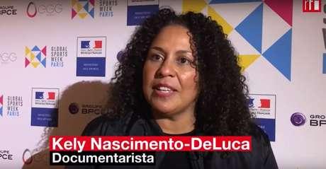 Kely Nascimento-DeLuca se tornou ativista pelos direitos das mulheres dentro e fora do futebol