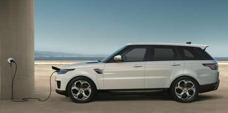 Range Rover Sport: apenas três horas para carregar a bateria.