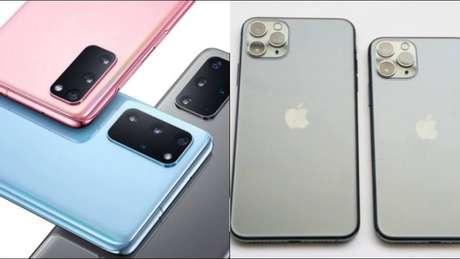 Samsung e Apple: empresas já revelaram aomercado os seus mais recentes lançamentos.