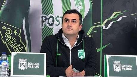 Presidente do Atlético Nacional critica falta de pagamento do Palmeiras