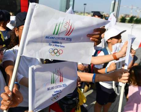 Milão e Cortina d'Ampezzo, no norte da Itália, sediarão os Jogos Olímpicos de Inverno de 2026