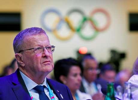 John Coates durante reunião do COI em Lausanne 10/01/2020 REUTERS/Denis Balibouse