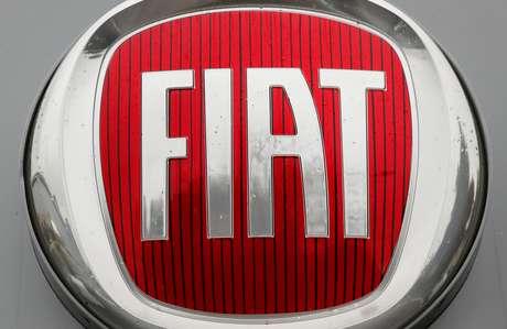 Logotipo da montadora de veículos Fiat. 30/10/2019.  REUTERS/Arnd Wiegmann