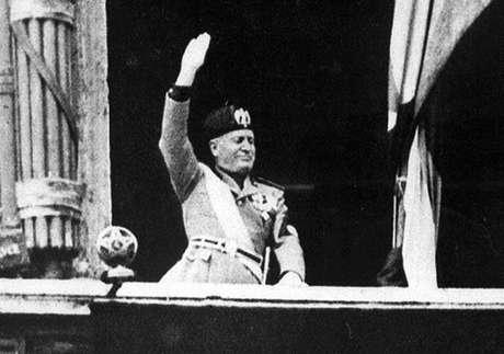 Benito Mussolini é cidadão honorário de Salò desde 1924