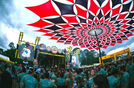 Primeira edição do 'Carnaval na Cidade', em 2019, contou com três dias de shows; neste ano, serão quatro