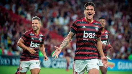 Pedro é um dos reforços do Flamengo para a temporada (Foto: Alexandre Vidal / Flamengo)