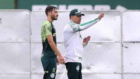 Matías Viña deve fazer sua estreia pelo Palmeiras neste domingo (Foto: Cesar Greco)