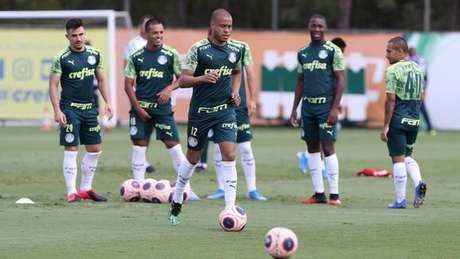 Mayke deve receber a primeira oportunidade como titular na temporada no domingo (Agência Palmeiras/Divulgação)